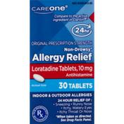 CareOne Loratidine Allergy Relief Tablets