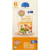 Earth's Best Stage 3 Cheesy Pasta with Veggies Organic Homestyle Meal Puree