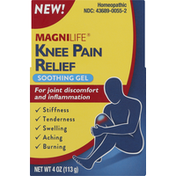 MagniLife Knee Pain Relief, Soothing Gel