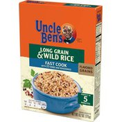 Uncle Ben'S Flavored Grains Long Grain & Wild Fast Cook