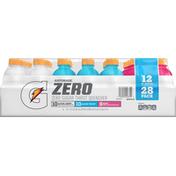 Gatorade Thirst Quencher, Zero Sugar, Glacier Cherry/Glacier Freeze.Berry, 28 Pack