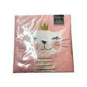 Paperproducts Design Happy Birthday Princess Printed Lunch Napkin