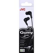 Jvc Stereo Headphones, Olive Black