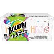Bounty Paper Napkins, Fun Print
