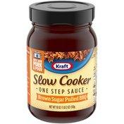 Kraft Slow Cooker Brown Sugar Pulled BBQ One Step Sauce