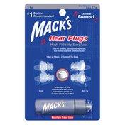 Mack's  Hear Plugs High Fidelity Ear Plugs