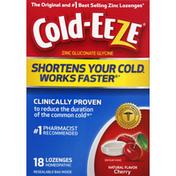 Cold-Eeze Zinc, Lozenges, Cherry