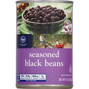 Kroger Black Beans, Seasoned