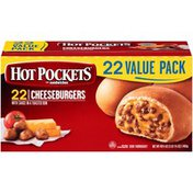 Hot Pockets Cheeseburgers Frozen Sandwiches