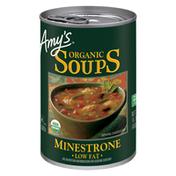 Amy's Kitchen Organic Minestrone Soup, Low Fat, Vegan