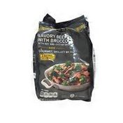 Signature Select Savory Beef With Broccoli With And Oyster Sauces Gourmet Skillet Meal