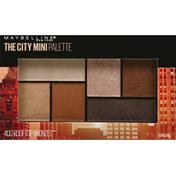 Maybelline Eyeshadow Palette Makeup Rooftop Bronzes