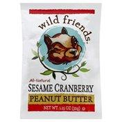 Wild Friends Peanut Butter, Sesame Cranberry
