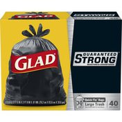 Glad Strong Quick Tie Large Trash Bags