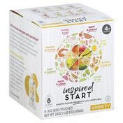 Inspired Start Baby Food, 4+ Months, Variety Pack
