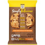 Toll House NESTLE  Simply Delicious Peanut Butter Chocolate Chip Cookie Dough