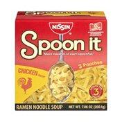 Nissin Spoon it Chicken Flavor Ramen Noodle Soup - 1 CT