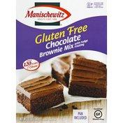 Manischewitz Brownie Mix, Gluten Free, Chocolate, with Fudge Frosting