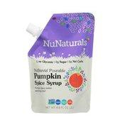 NuNaturals Pourable Pumpkin Spice Syrup