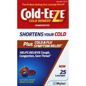 Cold-Eeze Cold Remedy, Homeopathic, Natural Mixed Berry Flavor, Lozenges