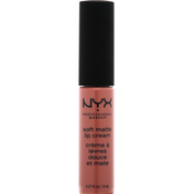 NYX Professional Makeup Lip Cream, Soft Matte, Toulouse SMLC38