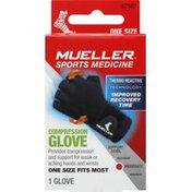 Mueller Compression Glove, Moderate, One Size