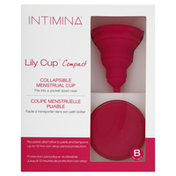 Intimina Menstrual Cup, Collapsible, Compact, B Size