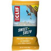 CLIF BAR Sweet & Salty Collection Peanut Butter & Honey with Sea Salt Energy Bar