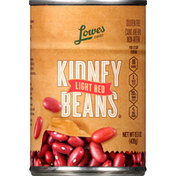 Lowes Foods Kidney Beans, Light Red
