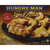 Hungry-Man Golden Battered Chicken with Cheese Fries