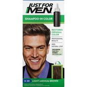 Just For Men Shampoo-In Color, Light-Medium Brown H-30