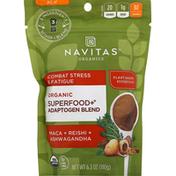 Navitas Organics Superfood+Adaptogen Blend, Organic, Maca+Reishi+Ashwagandha