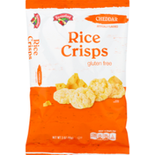 Hannaford Crispy Mini Cheddar Rice Cakes