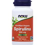 Now Spirulina Tablets
