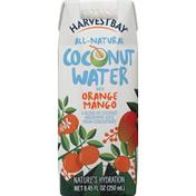 Harvest Bay Coconut Water, with Orange Mango