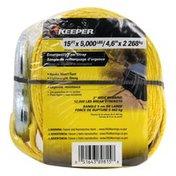 Keeper Emergency Tow Strap, 2 Inch