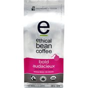 Ethical Bean Fairtrade Organic Coffee, Bold Dark Roast, Whole Bean Coffee