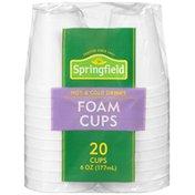 Springfield Foam 6 oz Cups