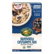 Nature's Path Optimum Power Blueberry Cinnamon Flax Hot Oatmeal