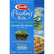 Barilla Mini Rotelle, Wheels, With Zucchini and Spinach