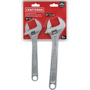 Craftsman Wrench Set, All Steel, Adjustable