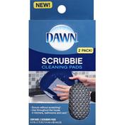Dawn Cleaning Pads, Scrubbie, 2 Pack