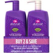 Aussie Aussome Volume 2 Pcs Shampoo and Conditioner