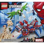 LEGO Building Toy, Spider-Man's Spider Crawler