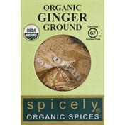 Spicely Organics Ginger, Ground, Organic