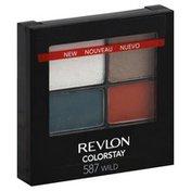 Revlon Eye Shadow, ColorStay, 16 Hour, Wild, Case