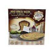 Hand-Made Shmura Matzah