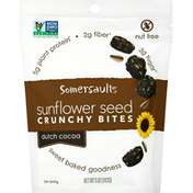 Somersaults Snack Co Sunflower Seed Crunchy Bites - Dutch Cocoa