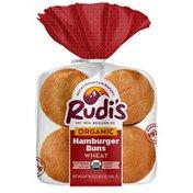Rudi's Rocky Mountain Bakery Organic Wheat Hamburger Buns