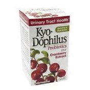 Kyo-Dophilus Cran+ Urinary tract and bladder health Probiotic Supplement Capsules